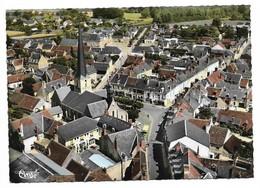 41 Cour Cheverny Vue Générale Aérienne (2 Scans) - Andere Gemeenten