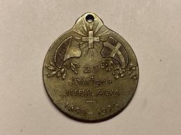 Sport Insigne 25 Jähriges Jubilaum TURNVEREIN ERLENBACH 1899 - 1924 Suisse Sportabzeichen - Gymnastique