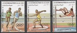 1984- Somalia- OLYMPIC GAMES LOS ANGELES - Complete Set MNH** - Somalië (1960-...)