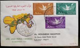 EGITTO 1957 CONFERENZA AFRO-ASIATICA - Ägypten