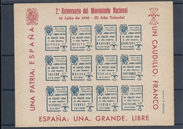ESPAÑA.AÑO 1938.FALANGE. - Nationalist Issues