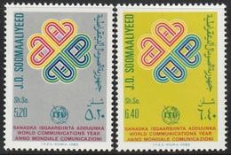 1983- Somalia- World Communication Year - Complete Set MNH** - Somalië (1960-...)