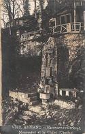 Carte Photo Militaire HARTMANNSWILLERKOPF-HARTMANNSWEILER-VIEIL ARMAND-Monument Denkmal Chalet-Guerre 14/18-Krieg - Other Municipalities