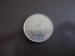 LOT : 5 Centimes Epi 1962 + 20 Centimes Etat Français 1943 à Trou + 1 Franc Etat Français 1943 - Non Classificati