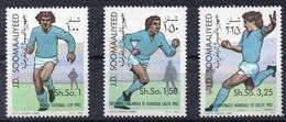 1982- Somalia- WORLD CUP SPAIN - Complete Set MNH** - Somalië (1960-...)