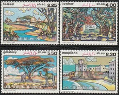 1982- Somalia- Landscape - Complete Set MNH** - Somalië (1960-...)