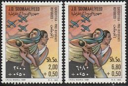 1981- Somalia- Refugees - Complete Set MNH** - Somalië (1960-...)