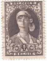 TIMBRE 0102 - Belgique - Y&T BE 329 De 1931 - Reine Elisabeth - 75 Centimes + 15 Centimes - 1931-1934 Kepi