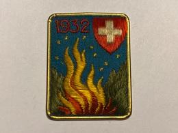 1932 1. August-Abzeichen  1 Aout 1 August 1 Agosto Suisse / Schweiz - Andere