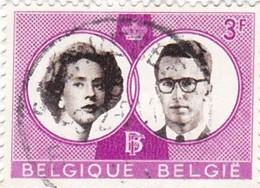 TIMBRE 0107 - Belgique - Y&T BE 1170 De 1960 - Wedding Boudewijn And Fabiola 3 F + Y&T BE 2560 De 1994 - Roi Albert II - Used Stamps