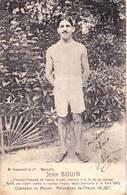 CPA : Sport Jean Bouin Coureur De Fonds Né à Marseille (13) 7 Records Du Monde Carte Signée 1910  Ed Grimaud - Athlétisme