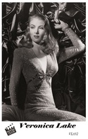 VERONICA LAKE (PB32) - Film Star Pin Up PHOTO POSTCARD - Pandora Box Edition Year 2007 - Artisti