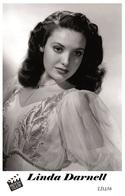 LINDA DARNELL (PB36) - Film Star Pin Up PHOTO POSTCARD - Pandora Box Edition Year 2007 - Artistes