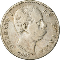 Monnaie, Italie, Umberto I, 2 Lire, 1883, Rome, TB, Argent, KM:23 - 1861-1946 : Kingdom