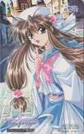 Télécarte JAPON / 110-016 - MANGA - STUDIO E.GO - CASTLE FANTASIA - ANIME JAPAN Phonecard -  BD COMICS TK - NFS 12010 - Stripverhalen