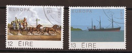 Europa CEPT 1979 Irlande - Ireland - Irland Y&T N°415 à 416 - Michel N°412 à 413 (o) - Europa-CEPT