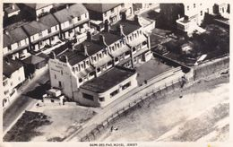 Demi Des Pas Hotel Jersey Channel Islands Aerial Real Photo Old Postcard - Non Classificati