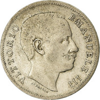 Monnaie, Italie, Vittorio Emanuele III, Lira, 1907, Rome, TB+, Argent, KM:32 - 1861-1946 : Regno