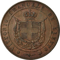 Monnaie, États Italiens, TUSCANY, Provisional Government, 5 Centesimi, 1859 - Regional Coins