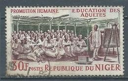 Niger YT N°160 Promotion Humaine Education Des Adultes Oblitéré ° - Níger (1960-...)