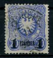 DEUTSCHE AUSLANDSPOSTÄMTER TÜRKEI Nr 3d Gestempelt X6D3BDA - Deutsche Post In Der Türkei