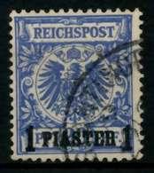 DEUTSCHE AUSLANDSPOSTÄMTER TÜRKEI Nr 8d Gestempelt Gepr. X7076A6 - Deutsche Post In Der Türkei
