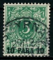 DEUTSCHE AUSLANDSPOSTÄMTER TÜRKEI Nr 6c Gestempelt X713BE6 - Deutsche Post In Der Türkei