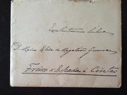 Portugal, Circulated Cover, From « Elvas (?) » To « Freixo De Espada à Cinta », 1902 - Lettres & Documents