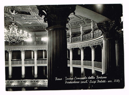 XW 2083 Fano (Pesaro Urbino) - Teatro Comunale Della Fortuna - Architetto Luigi Poletti / Viaggiata 1953 - Fano