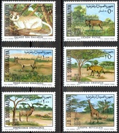 1977- Somalia-  Protected Animals - Complete Set MNH** - Somalië (1960-...)