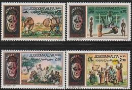1977- Somalia- Handcrafts-Artisanat- Complete Set MNH** - Somalië (1960-...)