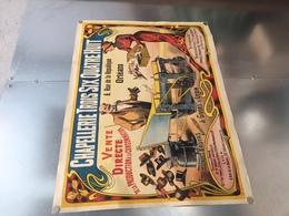 CHAPELLERIE TROIS SIX QUATRE HUIT, ORLEANS, USINE A GIVORS SUR LYON - Afiches
