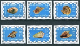 1976- Somalia- Sea Shells- Complete Set MNH** - Somalië (1960-...)