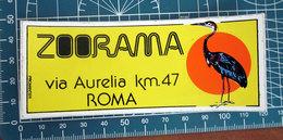 ZOORAMA ROMA STICKER  ADESIVO NEW ORIGINAL - Pegatinas