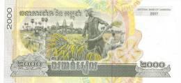 CAMBODIA P. 59a 2000 R  2007 UNC - Kambodscha