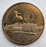 Monnaie De Paris 75.Vedettes Du Pont-Neuf  -  Figure De Proue 2013 - Monnaie De Paris