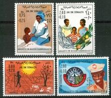 1976- Somalia- Famine Relief- Complete Set MNH** - Somalië (1960-...)