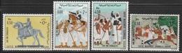 1976- Somalia- MEMORIAL SAYED MOHAMED ABDULLA HASSAN- Complete Set MNH** - Somalië (1960-...)