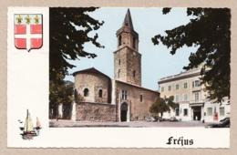 Fréjus - La Cathédrale Saint-Léonce Et L'Hôtel De Ville - Frejus