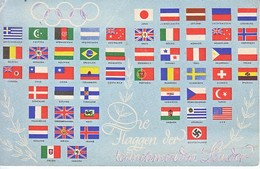 GERMANY   OLYMPIC  1936     FLAGS  USED - Summer 1936: Berlin