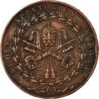 Vatican, Médaille, Pie IX, Rome Rendue Aux Catholiques Par Les Armes, 1849 - Andere