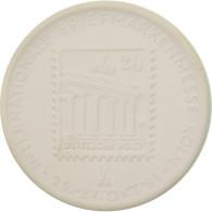 Allemagne, Médaille, Internationale Briefmarkenmesse Köln, Philatelia, 1991 - Altri