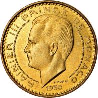 Monnaie, Monaco, Rainier III, 10 Francs, 1950, Paris, ESSAI, SUP - 1949-1956 Anciens Francs