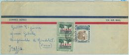 84265 - COLOMBIA - AIRMAIL COVER To ITALY 1958 - Petrol COFFEE - Kolumbien