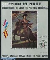 Paraguay 1976 Velasquez Painting S/s, (Mint NH), Art - Paintings - Paraguay