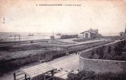 76 - Manche - REGNEVILLE Sur MER - La Gare Et Le Port - Autres Communes