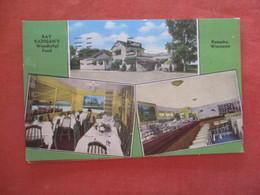 Ray Radigan's Wonderful Food    Wisconsin > Kenosha  Ref 4090 - Kenosha