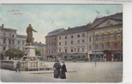 Olmütz - Oberring - 1912? Nach Kopenhagen / Dänemark - Czech Republic