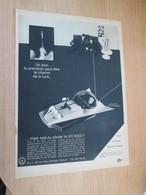 SPITIN20 Pour  Collectionneurs  PUBLICITE 60/70 ; PAGE JEU TELECOMMANDE KX2000 VAISSEAU SPATIAL Plastifiable Sur Demande - Jugetes Antiguos