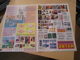 Ww2013/2 : Pour Dioramas 1/35e 1/72e / 2 PAGES COULEURS A DECOUPER POUR AFFICHES PLAQUES DE RUES PANNEAUX INDICATEURS ET - Vitrines